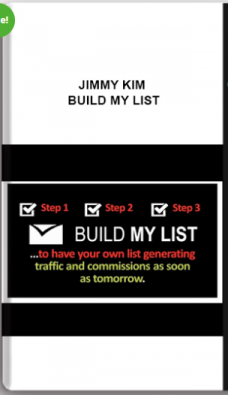 Jimmy Kim – Build My List