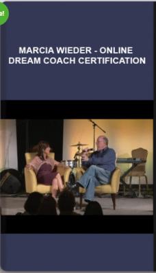 Marcia Wieder – Online Dream Coach Certification