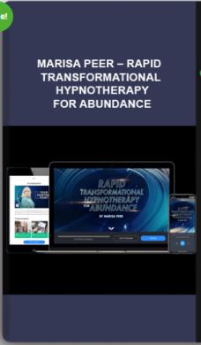 Marisa Peer – Rapid Transformational Hypnotherapy for Abundance