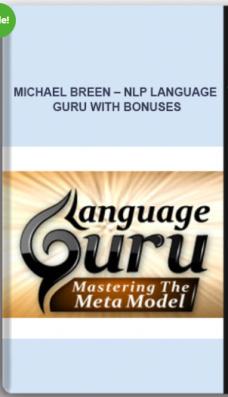 Michael Breen – NLP LANGUAGE GURU with bonuses
