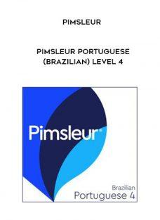 Pimsleur – PIMSLEUR PORTUGUESE (BRAZILIAN) LEVEL 4