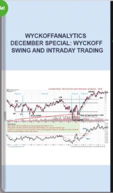 Wyckoffanalytics – December Special: Wyckoff Swing and Intraday Trading