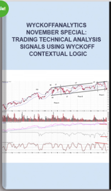 Wyckoffanalytics – November Special: Trading Technical Analysis Signals using Wyckoff Contextual Logic