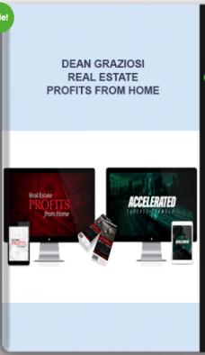Dean Graziosi – Real Estate Profits From Home