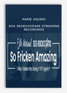 2016 SEORockstars Streaming/Recordings from Marie Aquino