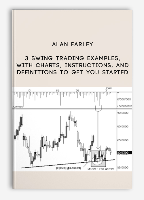 3 Swing Trading Examples, With Charts, Instructions, And Definitions To Get You Started by Alan Farley