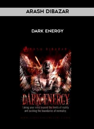Dark Energy by Arash Dibazar