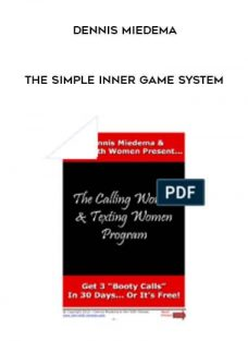 The Simple Inner Game System by Dennis Miedema