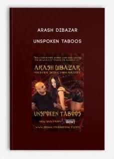 Arash Dibazar – Unspoken Taboos