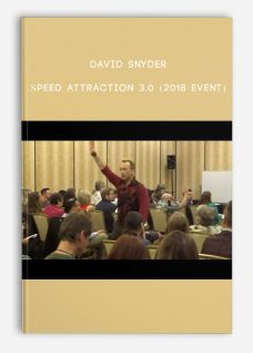 David Snyder – Speed Attraction 3.0 (2018 event)