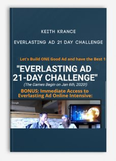 Everlasting Ad 21 Day Challenge by Keith Krance