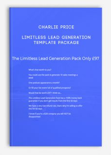Limitless Lead Generation Template Package by Charlie Price