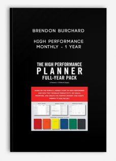 Brendon Burchard – High Performance Monthly – 1 Year