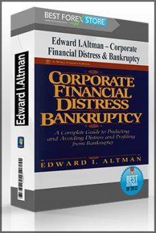 Corporate Financial Distress & Bankruptcy by Edward I.Altman