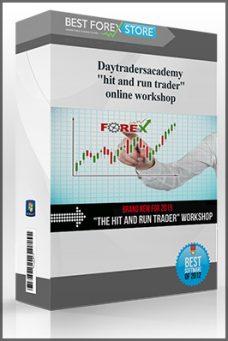 """Daytradersacademy – """"hit and run trader"""" online workshop"""
