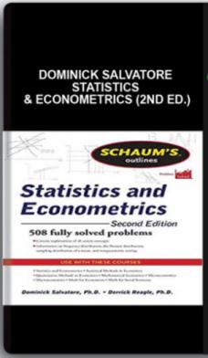 Dominick Salvatore – Statistics & Econometrics (2nd Ed.)