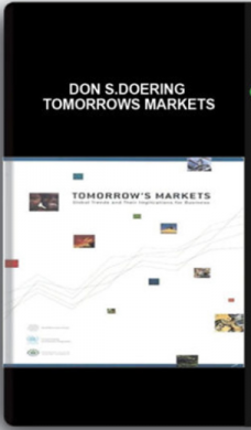 Don S.Doering – Tomorrows Markets