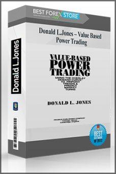 Donald L.Jones – Value Based Power Trading