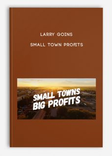 Small Town Profits by Larry Goins