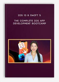 iOS 13 & Swift 5 – The Complete iOS App Development Bootcamp
