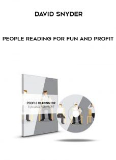 David Snyder – People Reading For Fun And Profit