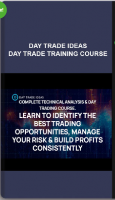 Day Trade Ideas – Day Trade Training Course