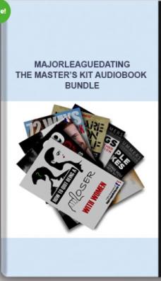 Majorleaguedating – The Master's Kit Audiobook Bundle
