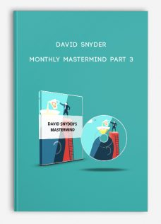 Monthly MasterMind Part 3 by David Snyder