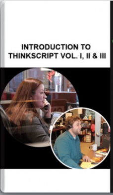 Simplertrading – Introduction to ThinkScript Vol. I, II & III