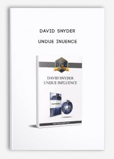 Undue Inuence by David Snyder