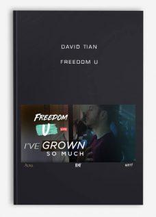 David Tian – Freedom U