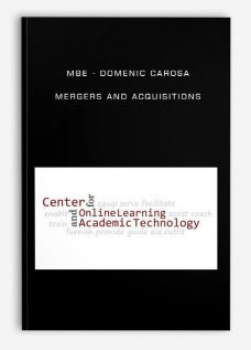MBE – Domenic Carosa – Mergers and Acquisitions