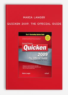 Maria Langer – Quicken 2009. The Official Guide