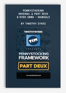 PennyStocking – Original & Part Deux – 8 DVDs 2008 + Manuals by Timothy Sykes