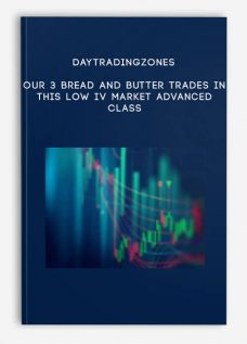 Daytradingzones – Our 3 Bread and Butter Trades In This Low IV Market Advanced Class