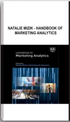 Natalie Mizik – Handbook of Marketing Analytics