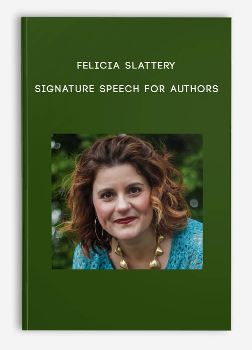 Signature Speech for Authors by Felicia Slattery