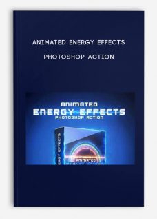Animated Energy Effects Photoshop Action