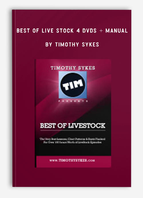 Best of Live Stock 4 DVDs + Manual by Timothy Sykes
