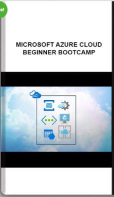 Microsoft Azure cloud – Beginner Bootcamp (Updated Sep 2019)