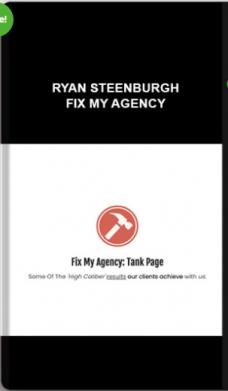 Ryan Steenburgh – Fix My Agency