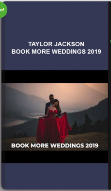 Taylor Jackson – Book More Weddings 2019