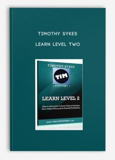 Timothy Sykes – Learn Level Two