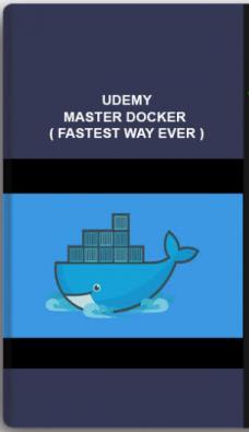 Udemy – Master Docker ( Fastest Way Ever )