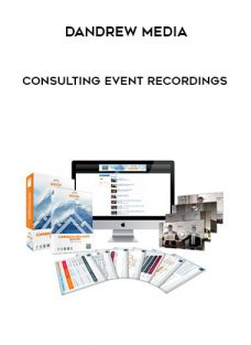 Consulting Event – Recordings by Dandrew Media