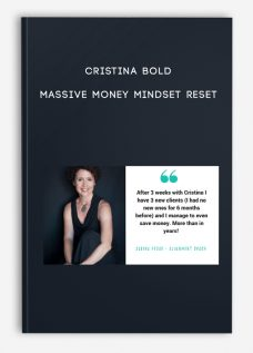 Massive Money Mindset Reset by Cristina Bold