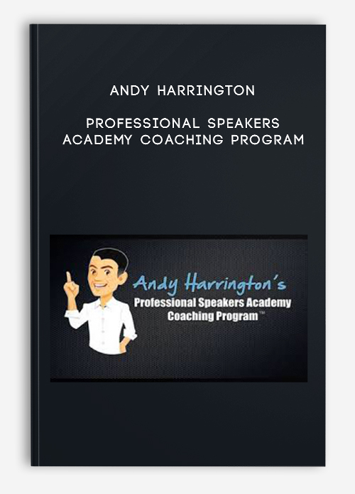 Andy Harrington – Professional Speakers Academy Coaching Program