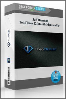 Jeff Bierman – TotalTheo 12 Month Mentorship