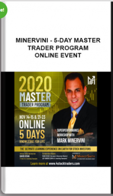 Minervini – 5-Day Master Trader Program ONLINE EVENT