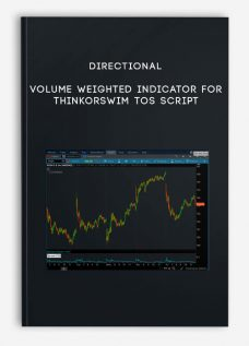 Directional Volume weighted Indicator for ThinkorSwim TOS Script